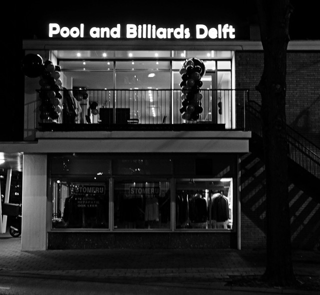 Entree Voorhofdreef Pool and Billiards Delft
