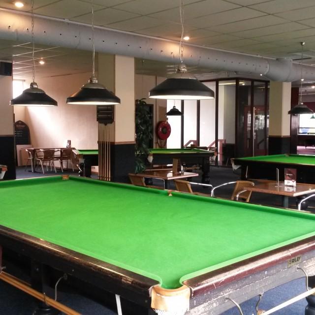 Snooker in Delft en Rijswijk